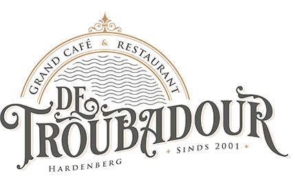 Logo Grand cafe De Troubadour